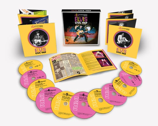 "The ""Live 1969"" box set captures Elvis' comeback concerts in Las Vegas."