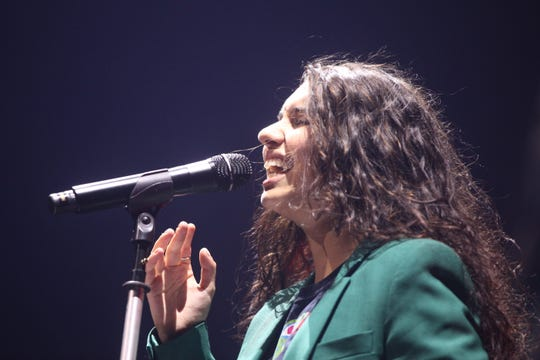 Alessia Cara opens for Shawn Mendes at Fiserv Forum on June 25, 2019.