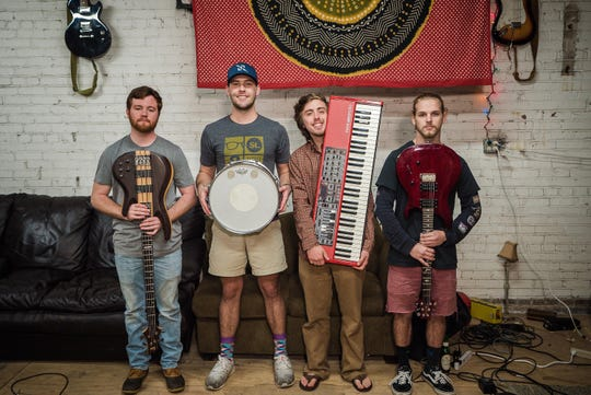 Montgomery band The Talismen will perform Friday and Saturday at Commerce Beerworks in downtown Montgomery.