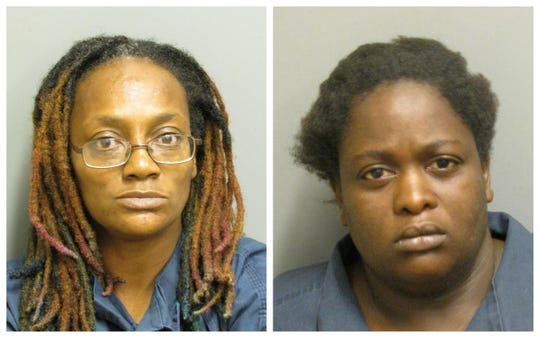 Betty King and Shardea McCall were charged with second-degree robbery.