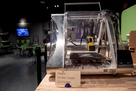 The Innovation Incubator exhibit at Adventure Science Center in Nashville, Tenn., Tuesday, June 25, 2019.