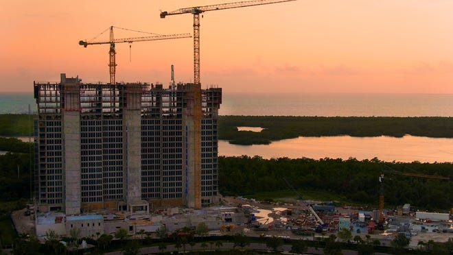 The second tower at Kalea Bay is scheduled to celebrate its topping off early this summer.