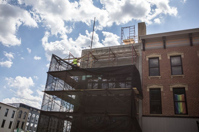 Construction has begun on the renovation of the Sullivan Building in downtown Newark.. Explore Licking County plans to occupy the historic building when renovations are complete.