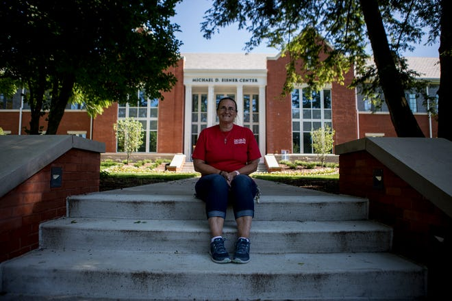 Christina Black's official title at Denison University is building services assistant but she has become a well loved and integral part of the Denison community.