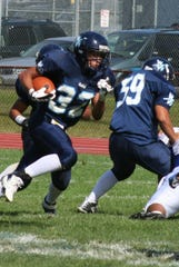 Matt Dortch rushed for more than 2,500 yards and caught passes for more than 1,000 yards in his two years as the starting tailback for Wayne Valley.