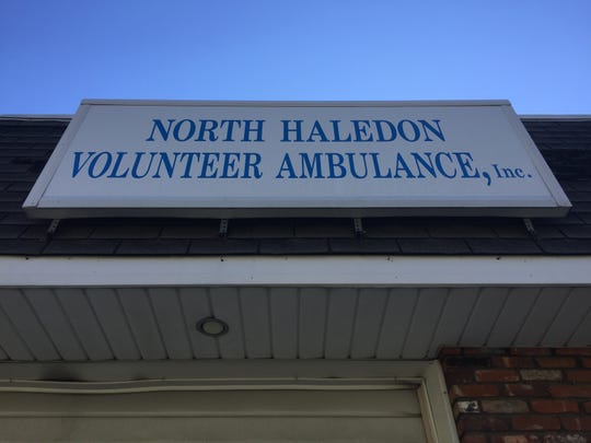 The headquarters of the North Haledon Volunteer Ambulance Corps on Belmont Avenue.
