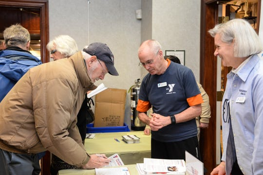 Age Friendly Ridgewood holds a volunteer fair for residents aged 55+ to help connect people with free time to organizations in need of volunteers.