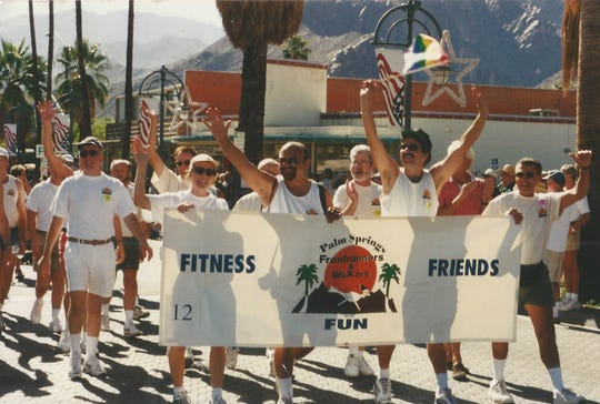Palm Springs Front Runners and Walkers was formed in 1997 by Phil Catalli and Lee Walton.