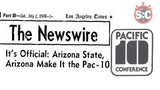 The inside story about how the University of Arizona helped push Arizona State to join the Pac-8 in 1978.