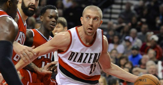 Steve Blake was once a teammate of James Jones at Portland when Monty Williams was an assistant coach there.