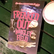 """Freaked Out at Wrigley Field"" is the first in the Stadium Adventure Series of books for middle grade readers written by Roger D. Hess. Each book is set in Port Clinton."