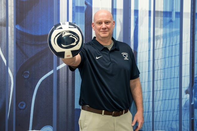 Keith Hartman is the new head women's volleyball coach at Penn State York.