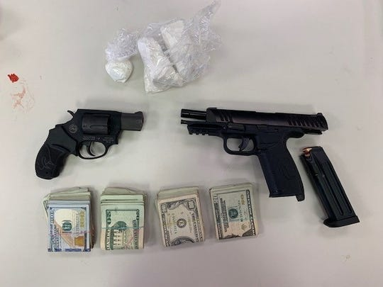 The York County District Attorney's office said the county Drug Task Force seized cash, cocaine and guns from the home of alleged dealer Wilfredo Torres-Rivera on June 25, 2019.