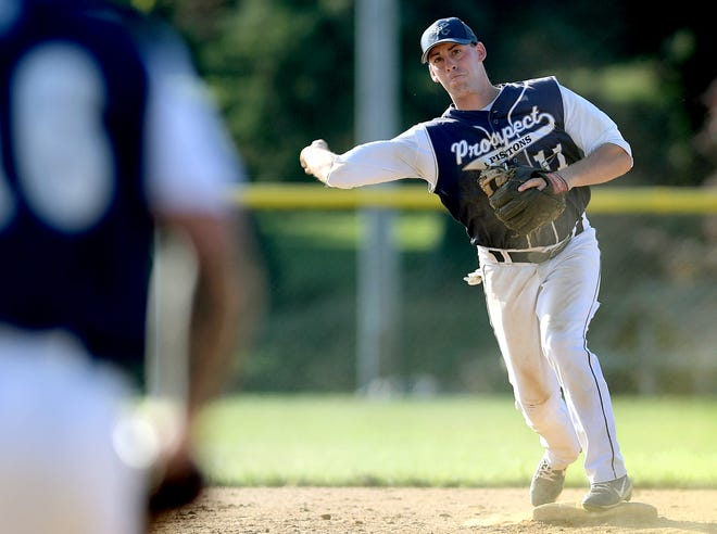 East Prospect's Ryky Smith, seen here in a file photo, drove in four runs on Tuesday evening in a 7-1 win over Windsor.