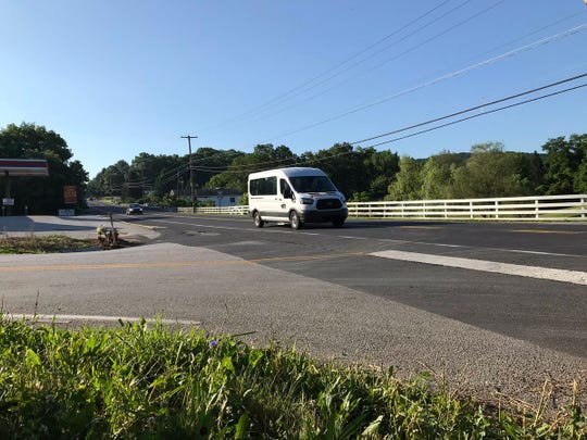 The intersection of Carlisle and Conewago roads in Dover Township, where 76-year-old Leroy Stough apparently suffered a medical event and died just prior to crashing his vehicle on Tuesday, according to York County Coroner Pam Gay.