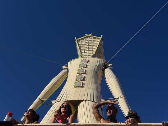 File image from Burning Man.