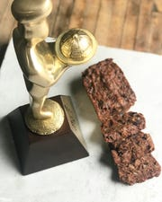Colleen Sundlie won a Baked Good Gold sofi award from the Special Food Association for her fruitcake.