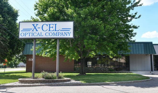 The X-Cel Optical building at 806 South Benton Dr. is pictured Wednesday, June 26, 2019, in Sauk Rapids.