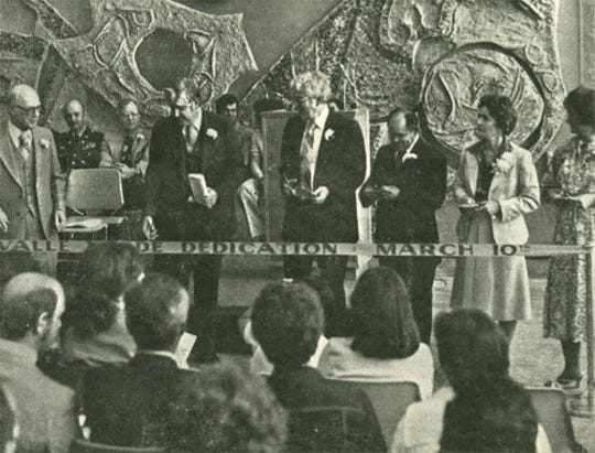 The El Paso Community College Valle Verde Campus was dedicated March 10, 1979.