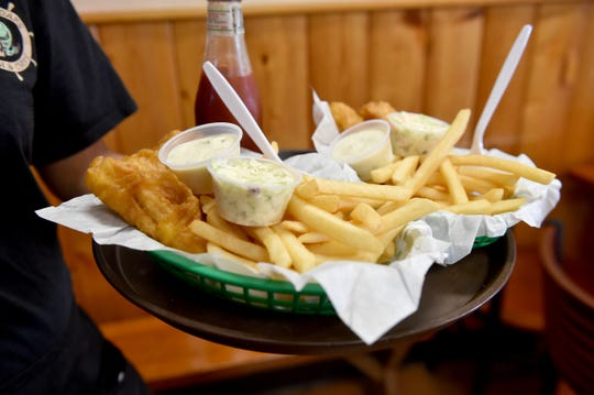 The traditional  fish and chips is among the dishes featured on the menu at Thousand Oaks Fish & Chips.