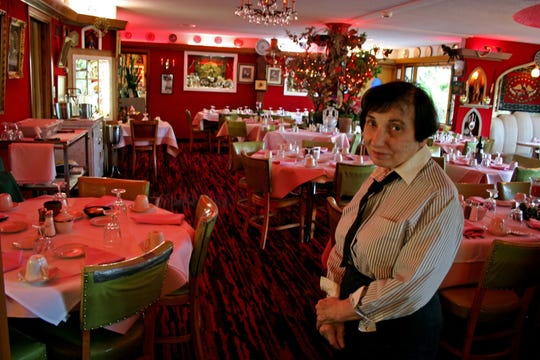 Marge Gogian was the owner of the original Turk's Inn located just north of Hayward. She was a New York City fashion designer until the 1970s, when she moved home to Hayward to help her parents run the supper club.