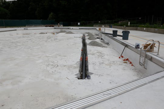 Westchester County Executive George Latimer is calling for a audit of the Sprain Ridge Pool in Yonkers, after it was discovered there were serious problems with the new construction, during a press conference on June 13, 2018.