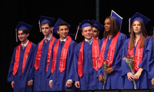The 2019 Blind Brook High School graduation was held at Purchase College Jan. 25, 2019.