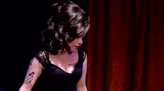 Gabrielle Sansone as Amy Winehouse. The 19-year-old Sansone is from Mohegan Lake.