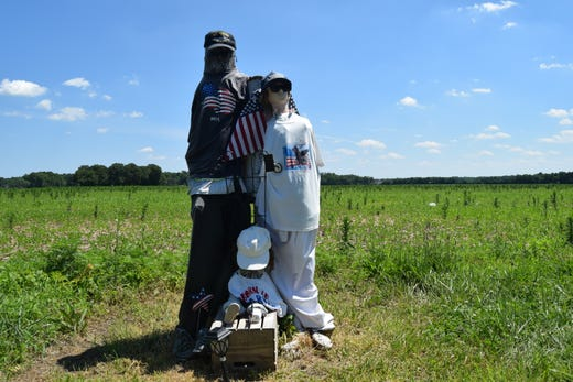 Southern Delaware prankster dresses utility poles in brassieres