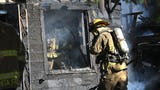 Wichita Falls firefighters work to control two-alarm fire