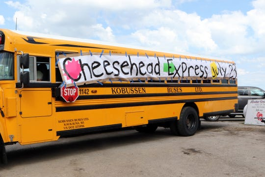 The Cheesehead Express will transport youth for the Ag Career Day at Jefferson County Farm Technology Days at the Walter Grain Farms in Johnson Creek.
