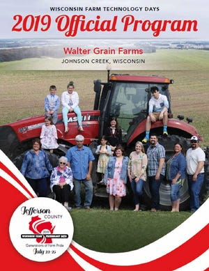 The Walter family of Johnson Creek will be the host family of this year's Farm Technology Days show in Jefferson County.