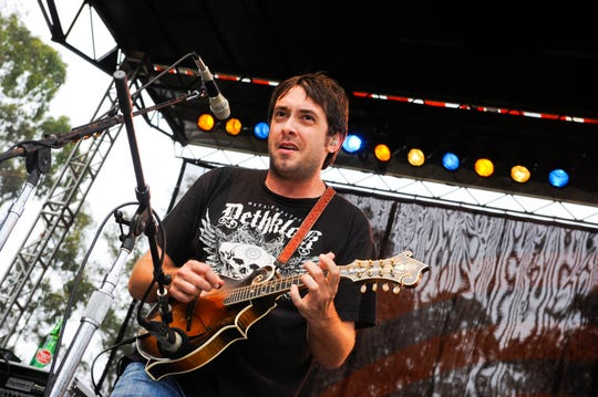 Jeff Austin of Yonder Mountain String Band.