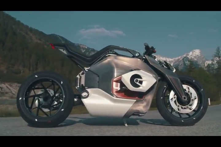 Bmw Motorrad Vision Dc Roadster Is An Electric Take On A Classic Bike