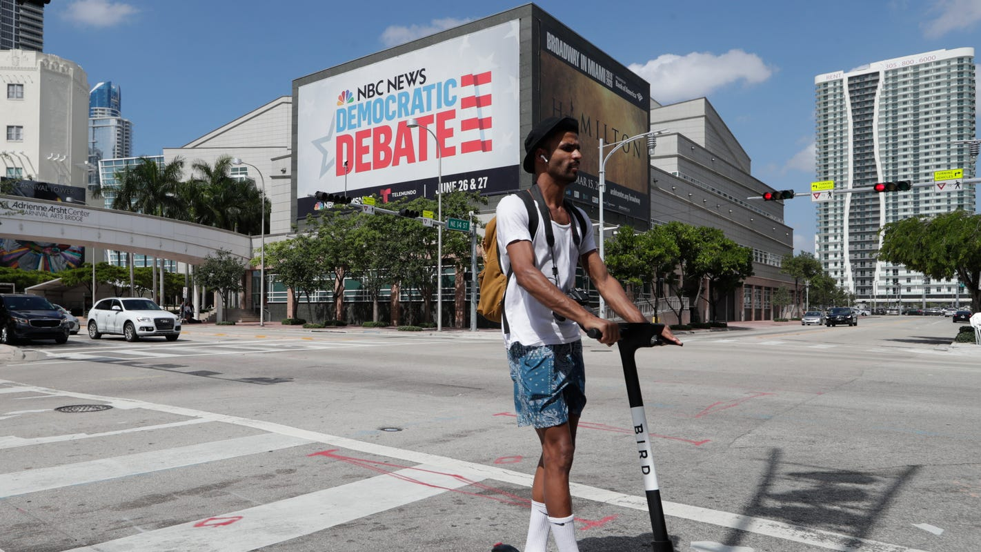 What time and how to watch the first 2019 Democratic debate