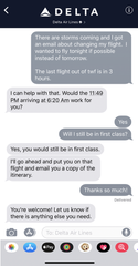 Delta passengers will soon be able to reach out to the airline for help via text message. The feature is being tested now and will roll out to all travelers this fall