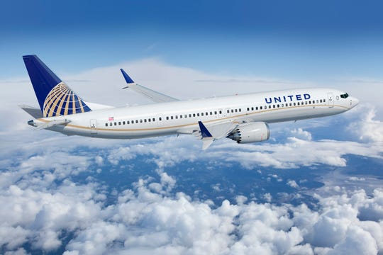 United has 14 Boeing 737 Max 9s in its fleet and more on order.