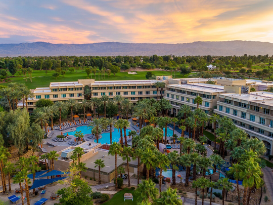 With seven pools to choose from, Hyatt Regency Indian Wells Resort & Spa offers guests plenty of ways to keep cool this season.