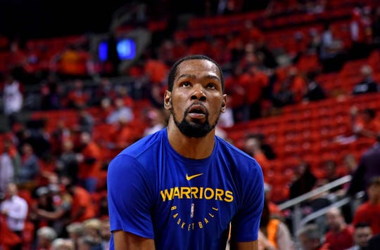 Kevin Durant is going to be a free agent with the Nets, Knicks, Clippers and Warriors among his suitors.