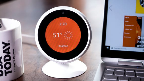 The Echo Spot may be small, but it sure is useful.
