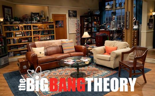 """""""Big Bang Theory"""" apartment set."""