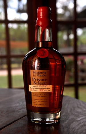 Perini Ranch's Private Select Bourbon at Perini Ranch in Buffalo Gap. The bourbon was made in partnership with Maker's Mark and went on sale June 20.