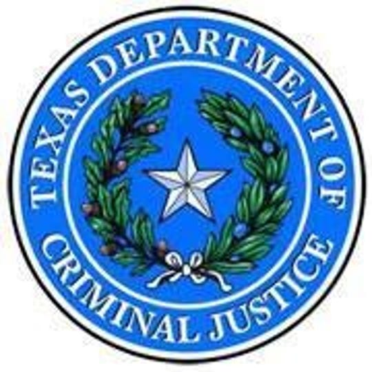 The seal of the Texas Department of Criminal Justice