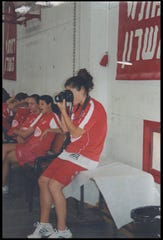 Bess Greenberg said she fell in love with photography while playing basketball in Israel.