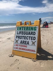 With on-shore shark fishing season coming up on July 1, fishing for sharks is not permitted in life guarded zones as it could be a potential risk for swimmers.