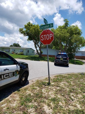 Titusville police investigated reports of gunshots being fired in a neighborhood on Thursday