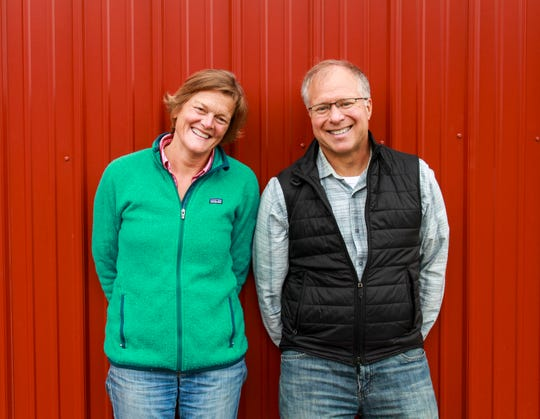 Allison Hooper and Bob Reese, founders of Vermont Creamery.
