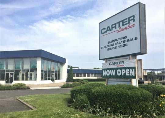 Carter Lumber, an Ohio-based firm, is now operating the former DuBell Lumber store on Cuthbert Boulevard in Cherry Hill.