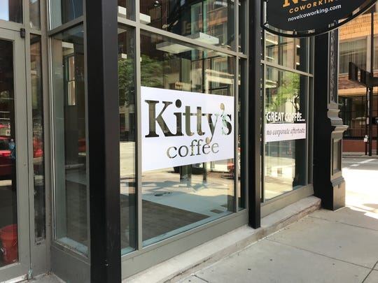 Kitty's Coffee is opening a new location on the southeast corner of Fourth and Elm streets.