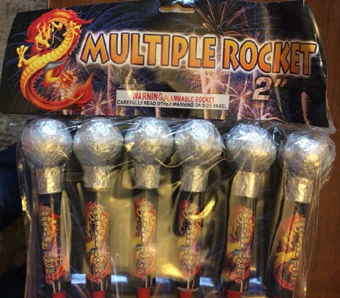 Thousand of fireworks sold by an Indiana seller were recalled Thursday.